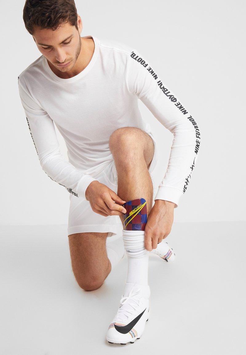 Nike Performance - FC BARCELONA MERC  - Shin pads - deep royal blue/noble red/university gold