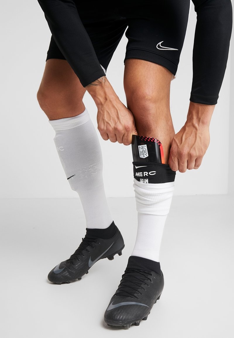 Nike Performance - NEYMAR MERC - Shin pads - red orbit/black/white
