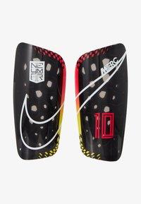 Nike Performance - NEYMAR MERC - Espinilleras - red orbit/black/white - 1