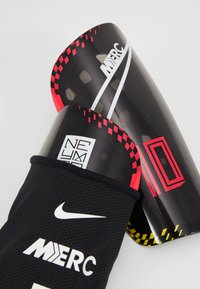 Nike Performance - NEYMAR MERC - Espinilleras - red orbit/black/white - 5