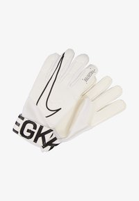 Nike Performance - MATCH - Guanti da portiere - white/black - 2