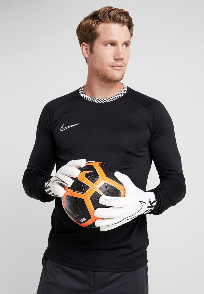 Nike Performance - MATCH - Guanti da portiere - white/black