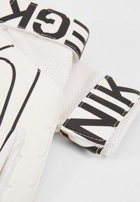 Nike Performance - MATCH - Guanti da portiere - white/black - 5