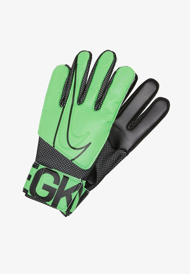 MATCH - Guanti da portiere - green strike/black/black
