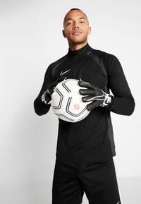 Nike Performance - MATCH - Gants de gardien de but - black/white - 0