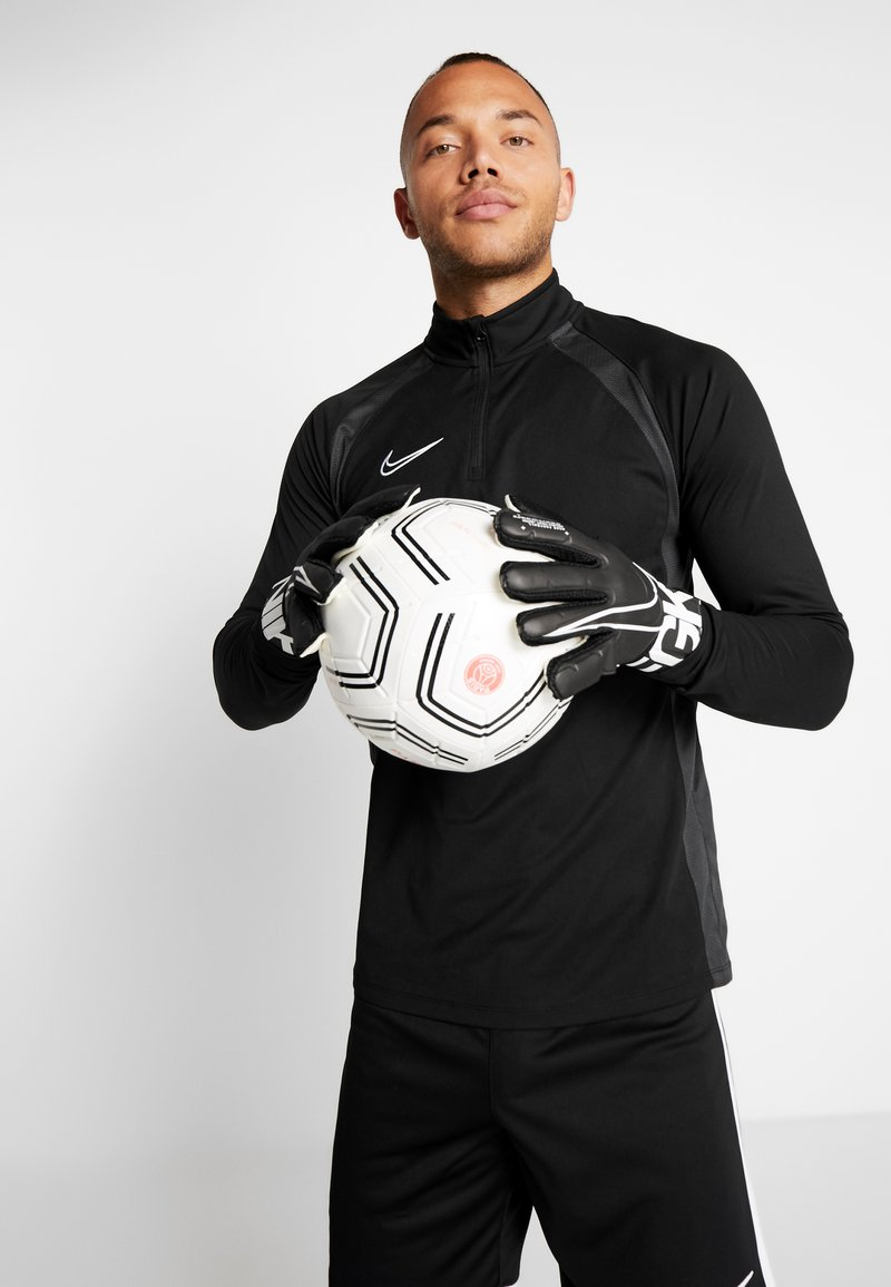 Nike Performance - MATCH - Gants de gardien de but - black/white
