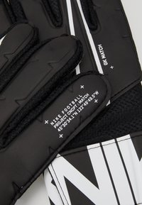 Nike Performance - MATCH - Gants de gardien de but - black/white - 4