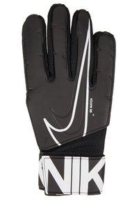 Nike Performance - MATCH - Gants de gardien de but - black/white - 2