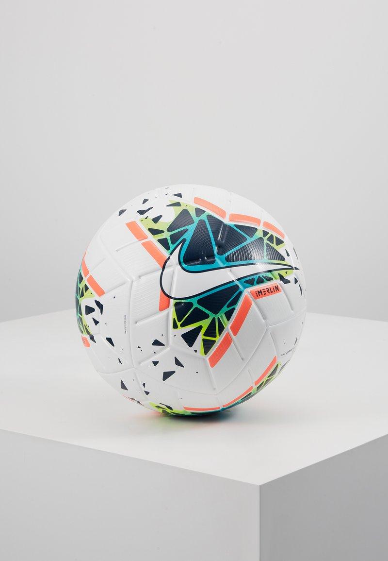 Nike Performance - MERLIN - Fodbolde - white/obsidian/blue fury