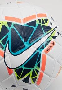 Nike Performance - MERLIN - Fodbolde - white/obsidian/blue fury - 3