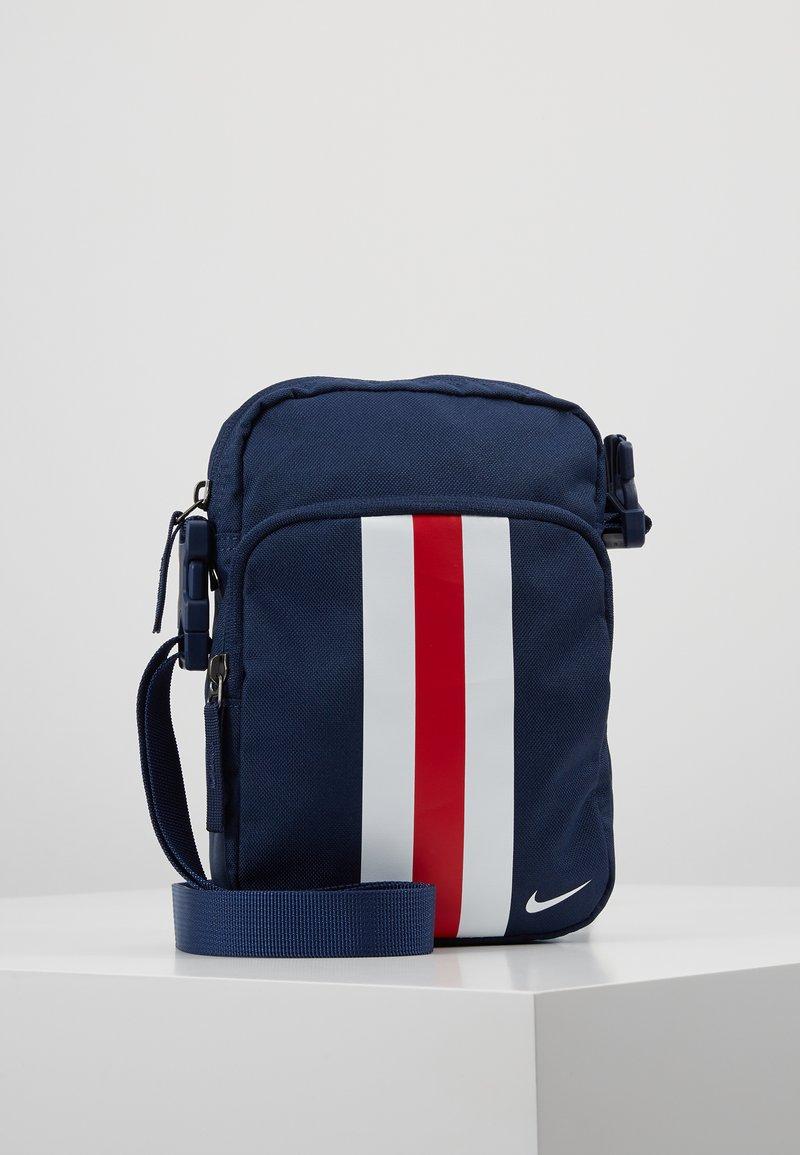 Nike Performance - STADIUM PARIS ST GERMAIN  - Across body bag - midnight navy/university red/white