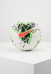Nike Performance - NIKE STRIKE - Football - white/black/green strike/laser crimson - 0