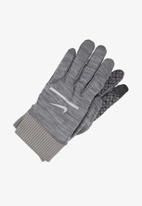 Nike Performance - SPHERE RUNNING GLOVES 2.0 - Fingervantar - iron grey heather/grey fog/silver