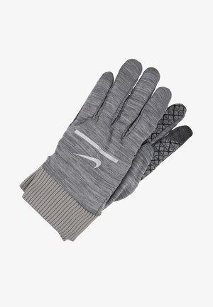 SPHERE RUNNING GLOVES 2.0 - Rękawiczki pięciopalcowe - iron grey heather/grey fog/silver