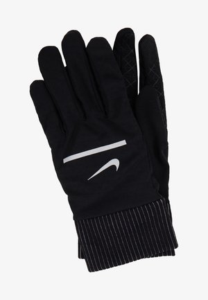 SPHERE RUNNING GLOVES 2.0 - Fingervantar - black/silver