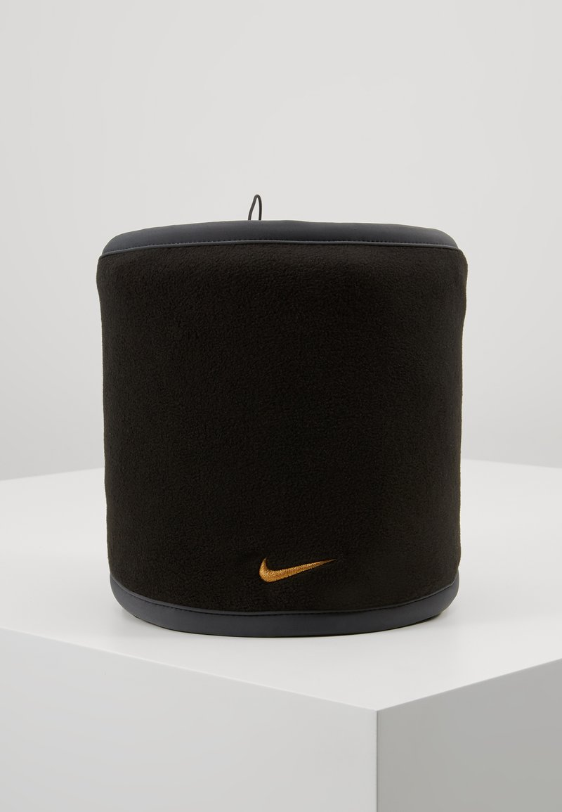 Nike Performance - REVERSIBLE NECK WARMER - Hals- og hodeplagg - black/anthracite/university gold