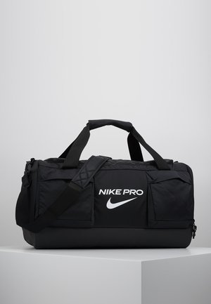 POWER M DUFF PRO - Sports bag - black/white