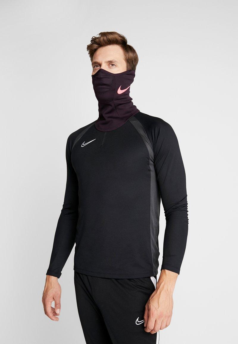 Nike Performance - STRIKE SNOOD - Hals- og hodeplagg - burgundy ash/racer pink
