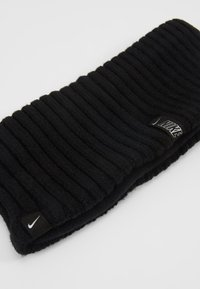 Nike Performance - WIDE HEADBAND - Öronvärmare - black/silver - 5