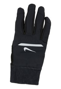 Nike Performance - MENS SHIELD RUNNING GLOVES - Guantes - black/wolf grey/silver - 4