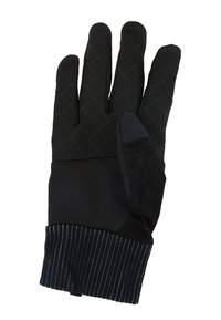 Nike Performance - MENS SHIELD RUNNING GLOVES - Guantes - black/wolf grey/silver - 5