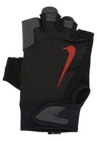 Nike Performance - ULTIMATE FITNESS GLOVES - Handsker - black/light crimson - 3