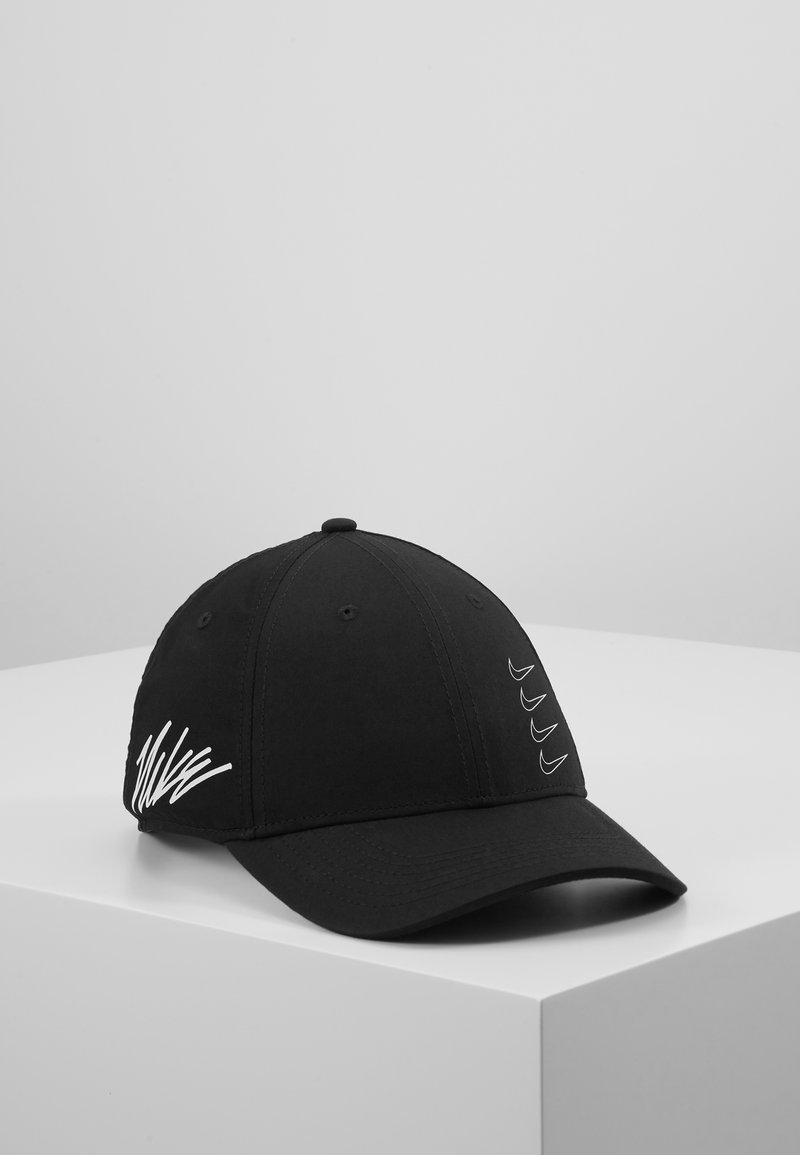 Nike Performance - DRY AEROBILL - Czapka z daszkiem - black/white