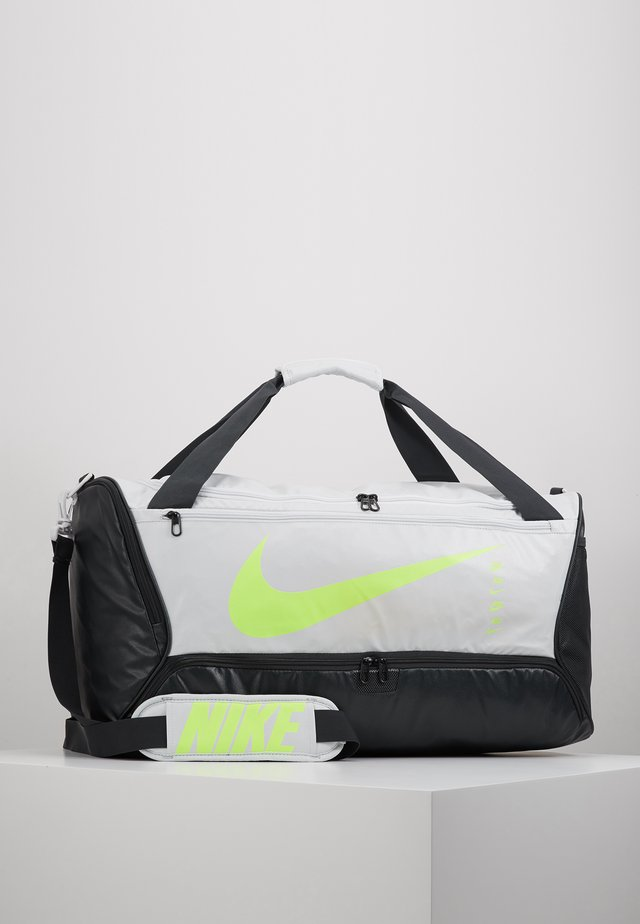 M DUFF 9.0 - Bolsa de deporte - photon dust/dark smoke grey/ghost green
