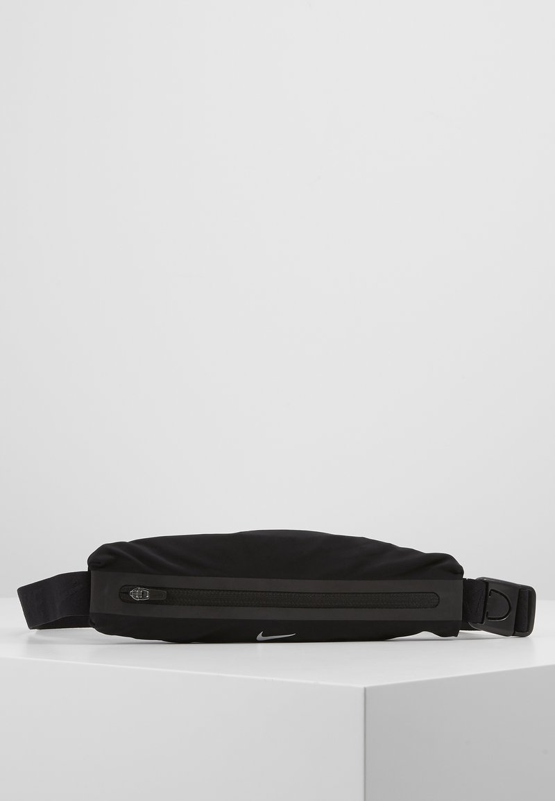 Nike Performance - NIKE SLIM WAISTPACK 2.0 - Bältesväska - black/silver