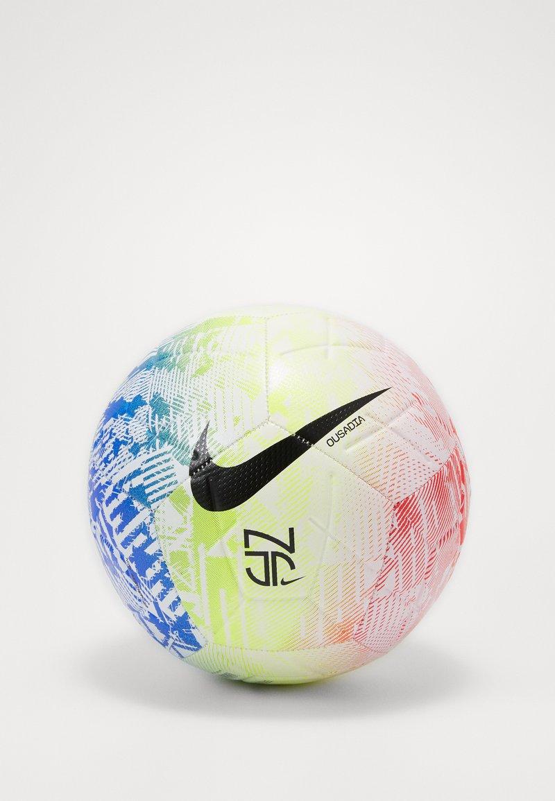Nike Performance - NEYMAR JR STIRKE - Piłka do piłki nożnej - white/volt/red orbit/black