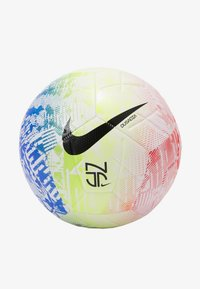 Nike Performance - NEYMAR JR STIRKE - Piłka do piłki nożnej - white/volt/red orbit/black - 1