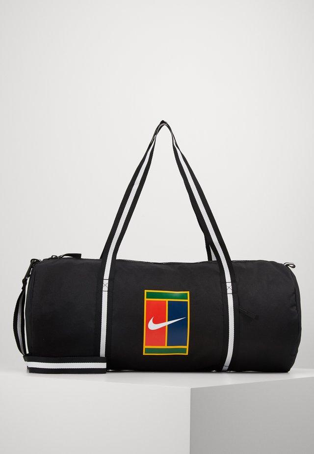 COURT - Sports bag - black/white