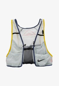 Nike Performance - MENS RUNNING TRAIL VEST - Zaino con cannuccia - aura/diffused blue/speed yellow/black - 1