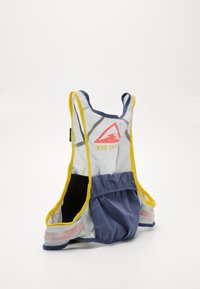 Nike Performance - MENS RUNNING TRAIL VEST - Zaino con cannuccia - aura/diffused blue/speed yellow/black - 3