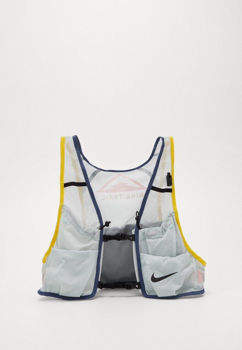Nike Performance - MENS RUNNING TRAIL VEST - Zaino con cannuccia - aura/diffused blue/speed yellow/black