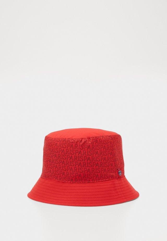 PARIS ST GERMAIN DRY BUCKET - Kapelusz - white/university red
