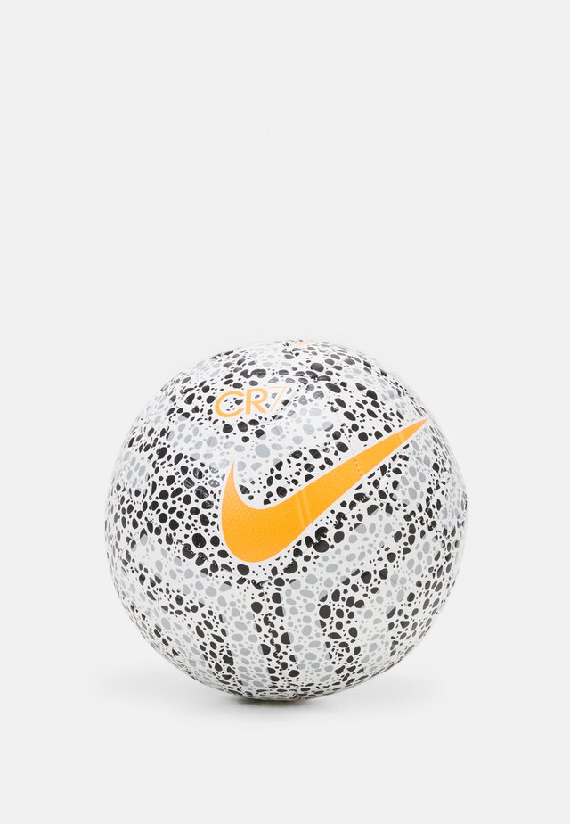 CR7 - Voetbal - white/black/total orange