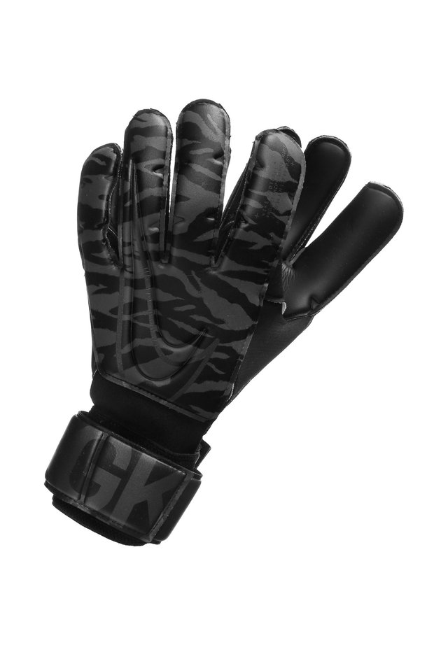 Gloves - black / anthracite / metallic silver