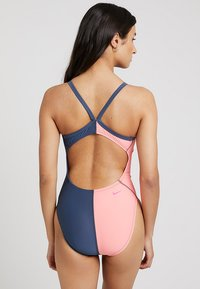 Nike Performance - RACERBACK ONE PIECE - Plavky - rose/grey - 2