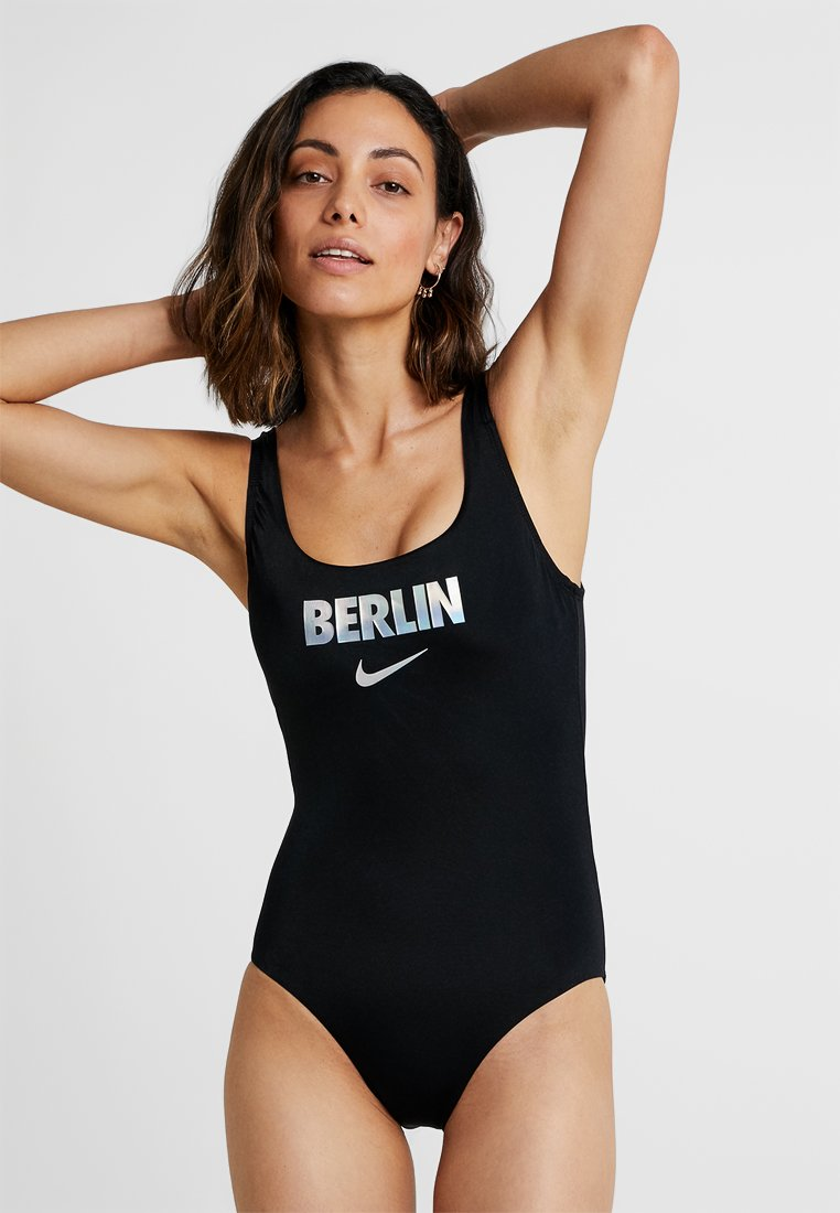 Nike Performance - BACK ONE PIECE - Badeanzug - anthracite