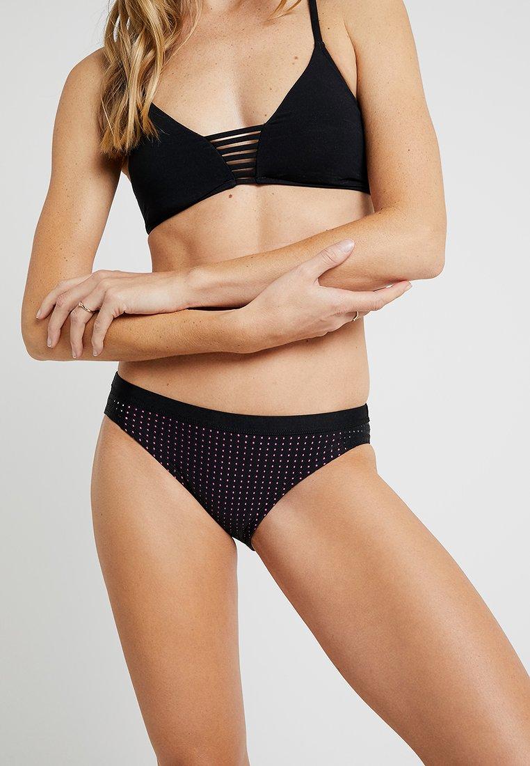 Nike Performance - SPORT BOTTOM - Bikini-Hose - black/pink