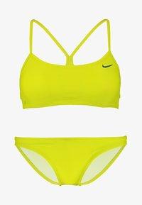 Nike Performance - RACERBACK TOP BOTTOM SET - Bikini - light green - 4