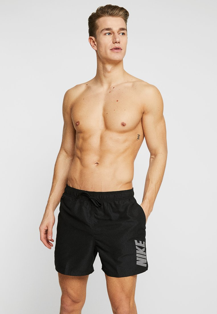 Nike Performance - VOLLEY - Swimming shorts - black