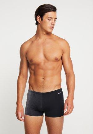 SQUARE LEG - Swimming trunks - black