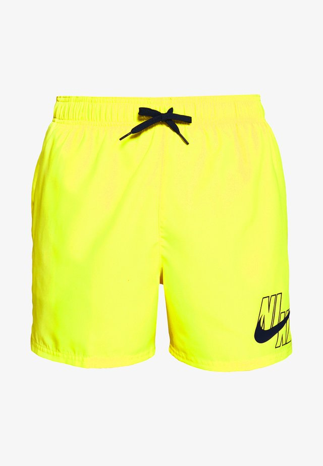 VOLLEY - Shorts da mare - lemon