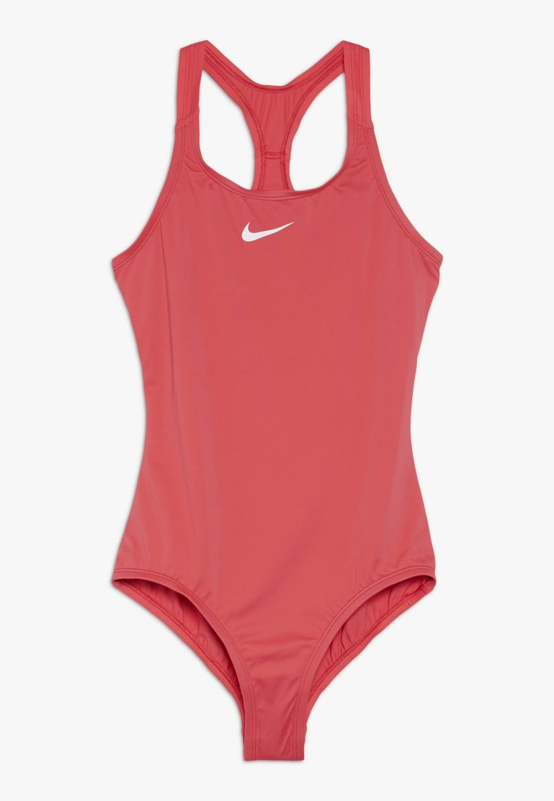 Nike Performance - SOLID RACERBACK ONE PIECE - Badeanzug - ember glow