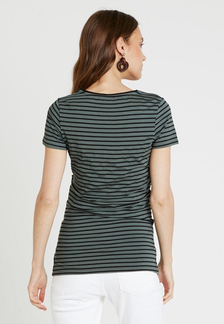 Noppies TEE NURS PARIS - T-shirts med print - urban chic