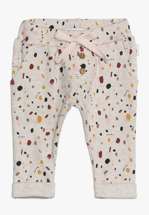 PANTS REGULAR CAIRO BABY - Bukser - whisper white melange