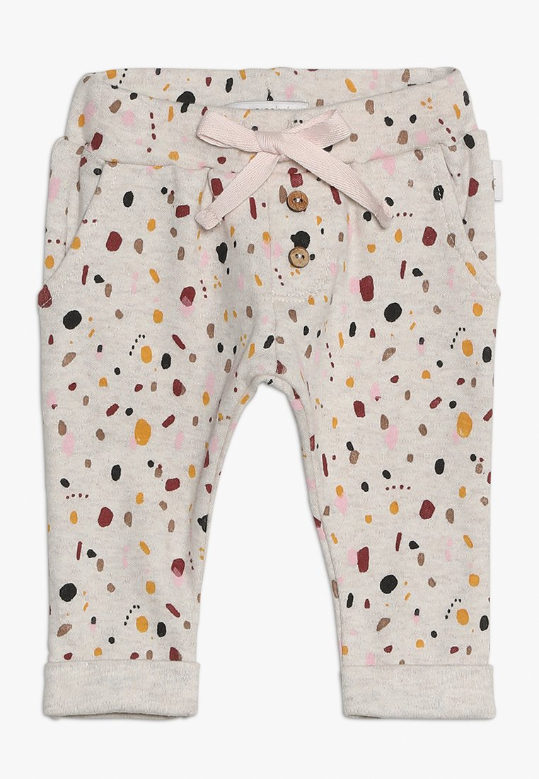 Noppies - PANTS REGULAR CAIRO BABY - Stoffhose - whisper white melange