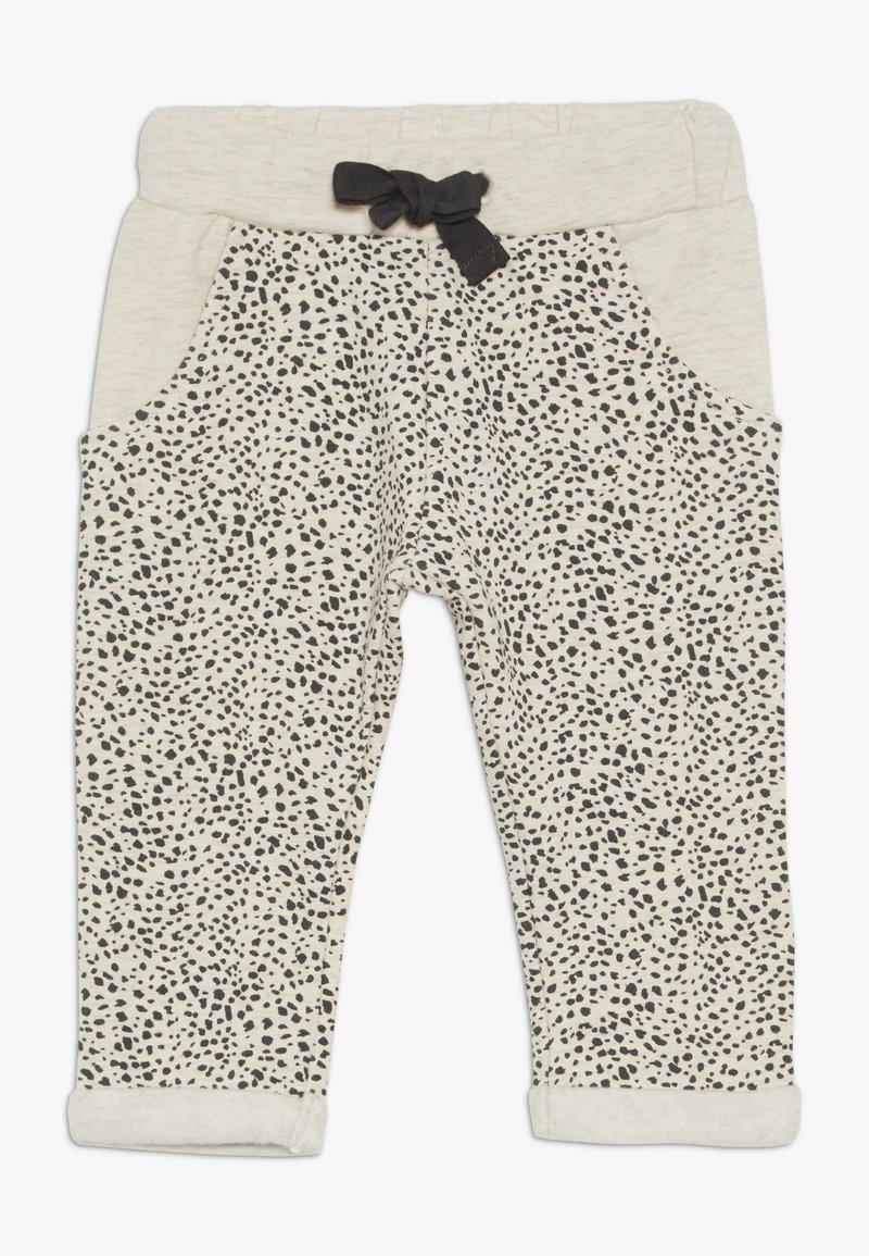 Noppies - PANTS REGULAR CHICO BABY - Trousers - whisper white melange